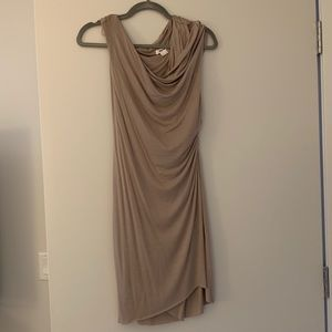 Grey Cotton Helmut Lang Dress